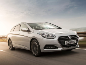 The updated Hyundai i40 is due out in March