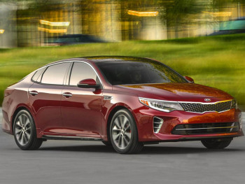 Revealed: the new Kia Optima