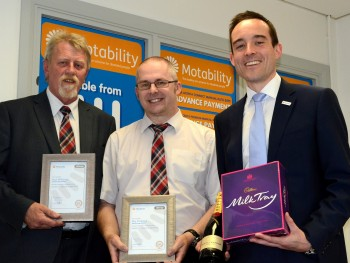 Paul and Ray receive Motability awards