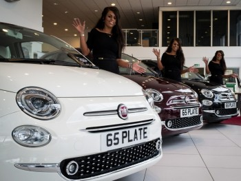 Lots of family fun at Fiat re-launch