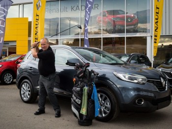 We're hosting a Renault KADJAR golf competition