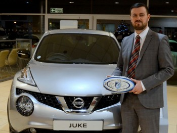 Win a brand new Nissan Juke on New Year's Day