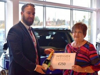 Pat wins our £250 prize draw
