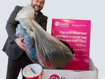 Have a clothes clear out in aid of charity
