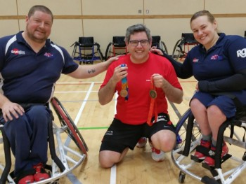 Our Jonathan tries Paralympic sports at Nissan event
