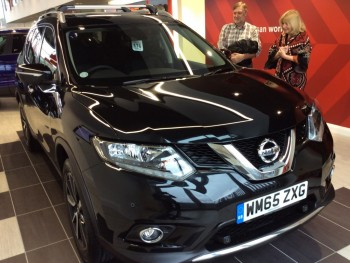 Bristol couple are the first to drive off in new Nissan