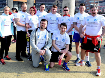 Colleagues raise cash for hospice with 5K fun run