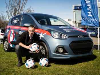 Euro 2016 goodies up for grabs for i10 test drivers