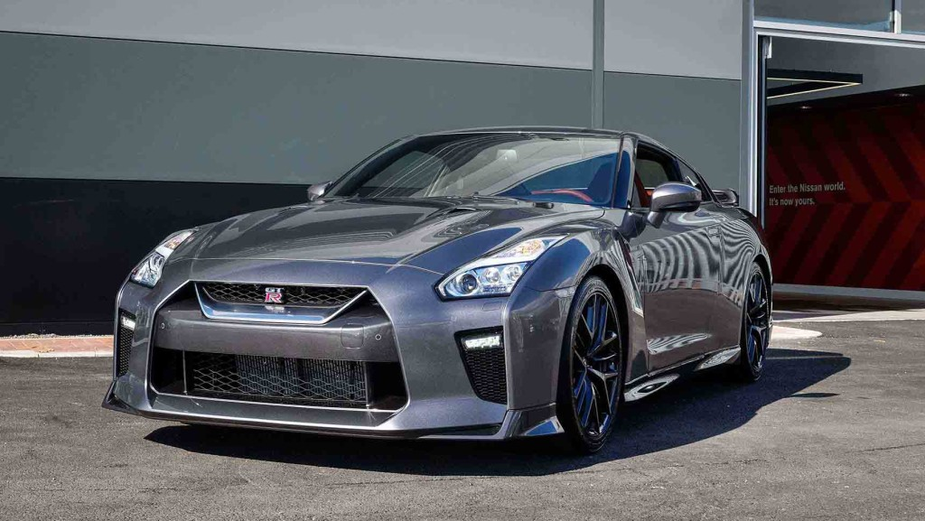 The new 2017 Nissan GT-R.