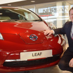 Go green and test drive  the 100% electric LEAF