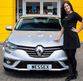 Be the first to test drive the all-new Renault Mégane