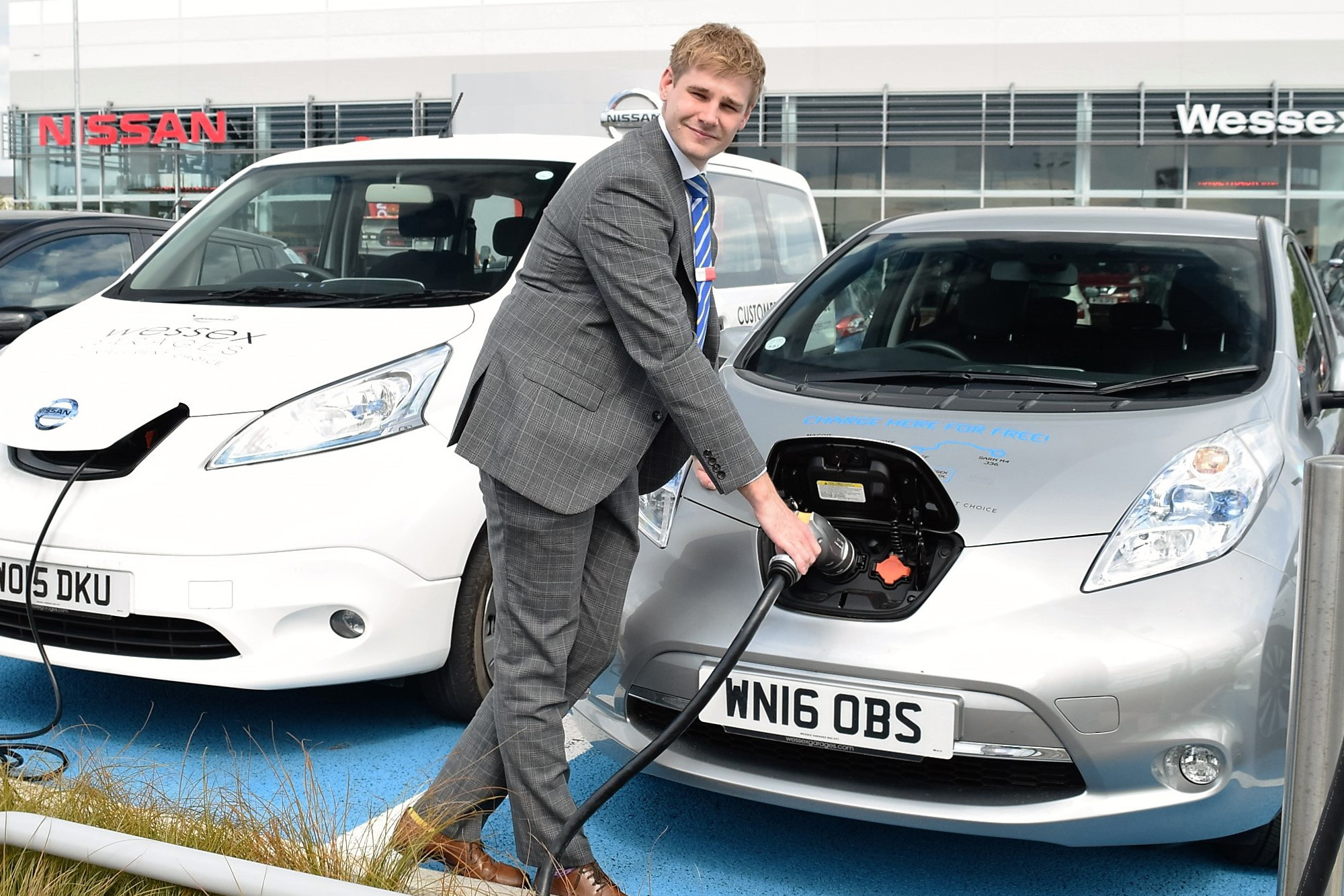 Josh Marks, Electric Vehicle/Leaf Specialist at Wessex Garages at Cribbs Causeway.