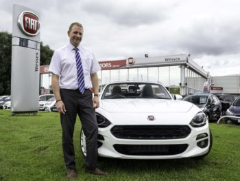 Free party to launch Fiat's new 124 Spider